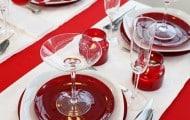 adornos navideños para mesas navideñas