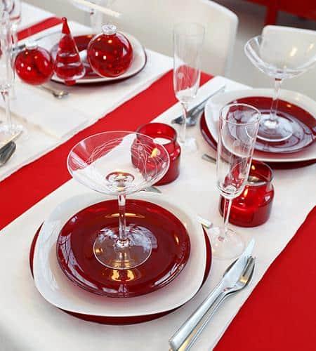32 Ideas De Mesas Navidenas Para Decorar En Navidad Mujeres - Arreglos-navideos-para-mesa