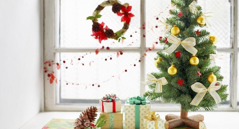 32 adornos y tendencias de arbol de navidad para decorar for Adornos navidenos para oficina