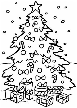 arbol de navidad para pintar