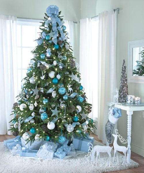 32 adornos y tendencias de arbol de navidad para decorar - Decoracion arbol navidad ...