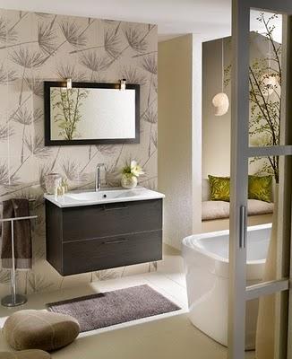 Como decorar un ba o peque o con estilo moderno mujeres - Como decorar un bano pequeno moderno ...
