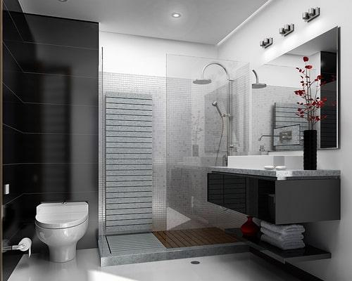 Baño Moderno Pequeno:baños-elegantes6