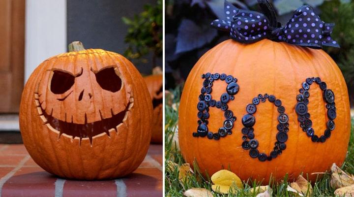 C mo hacer calabazas de halloween originales de papel y en foami - Como hacer calabazas de halloween ...