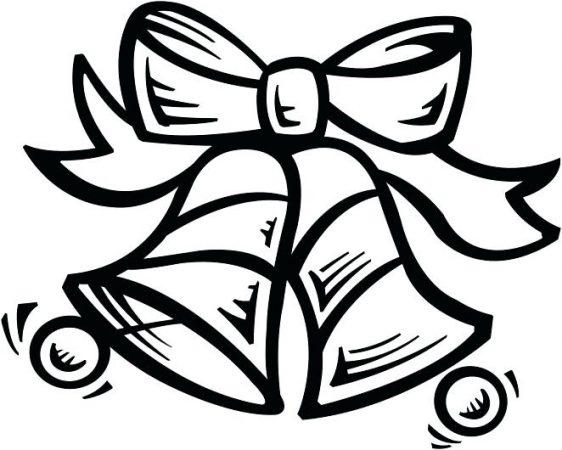 campanas de navidad para colorear para dibujos de campanas de navidad para pintar