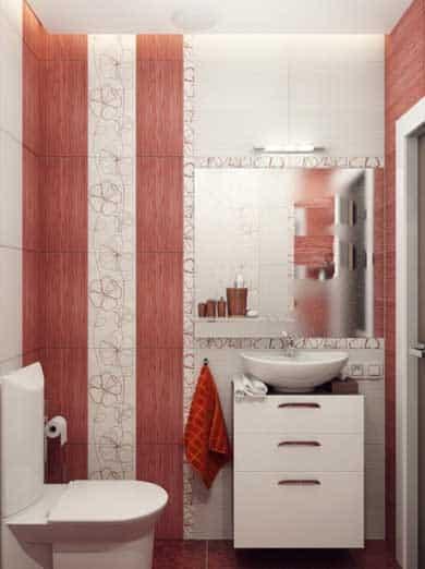 Como decorar un ba o peque o con estilo moderno mujeres femeninas - Como decorar un bano pequeno moderno ...