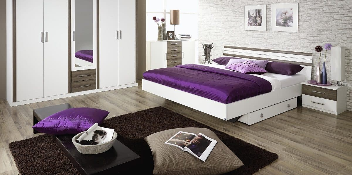 50 dise os que har n motivarte para decorar tu cuarto - Habitacion gris y blanca ...