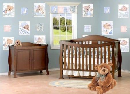 20 estilos e ideas para decorar la habitaci n del beb - Como decorar una habitacion rustica ...