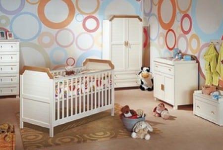 20 estilos e ideas para decorar la habitación del bebé ...