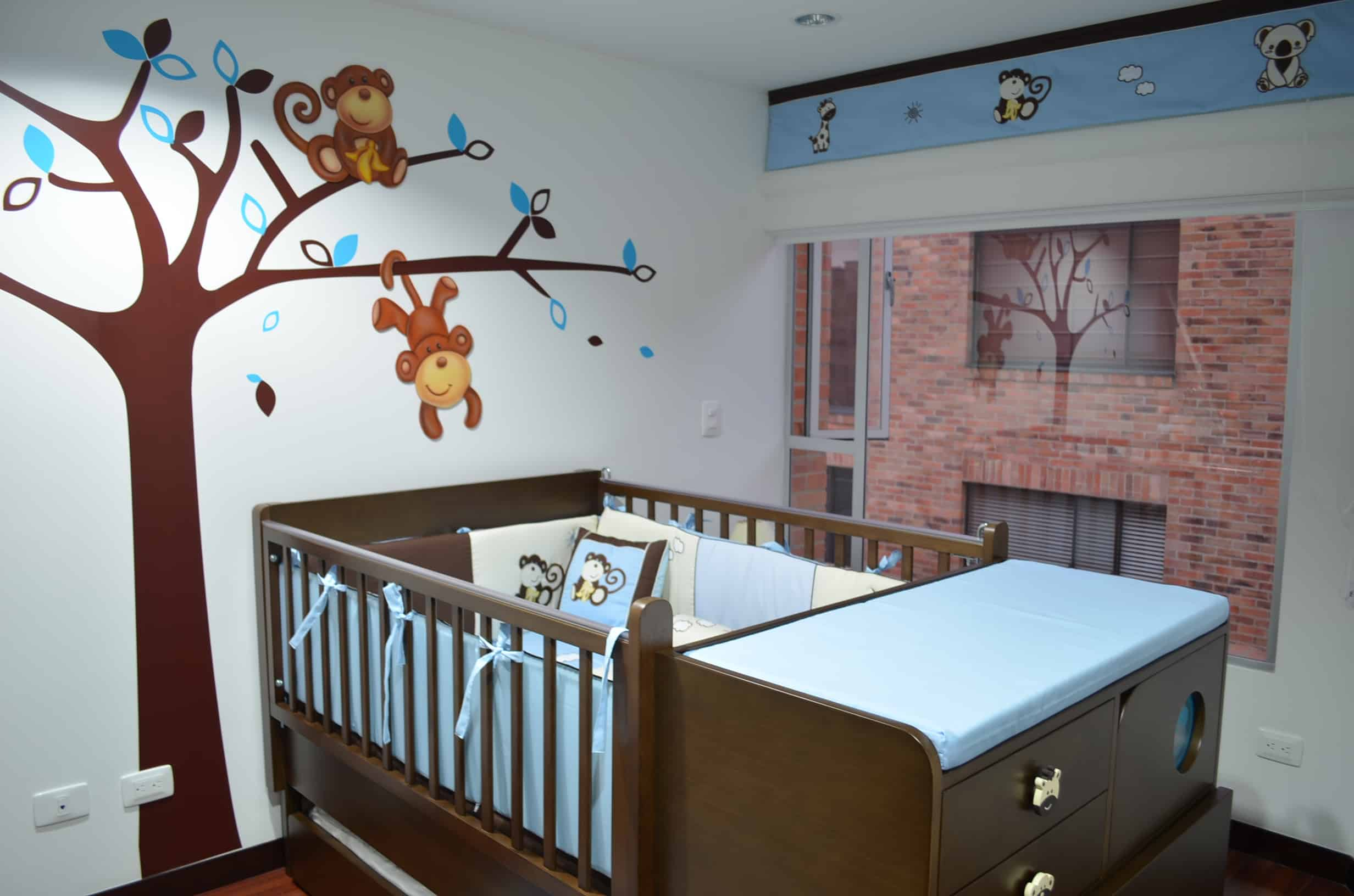 habitaciones para bebes ninos