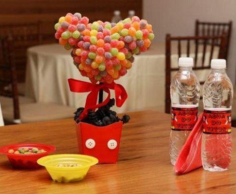 26 ideas muy faciles para armar tu mesa dulce de Mickey Mouse ...