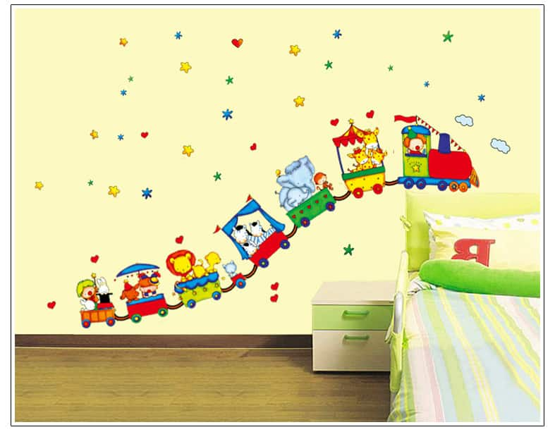 Vinilos infantiles decorativos para pared increibles for Pegatinas de pared ikea