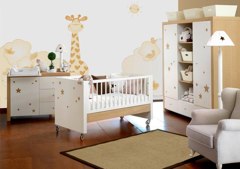 20 estilos e ideas para decorar la habitacin del beb recin nacido