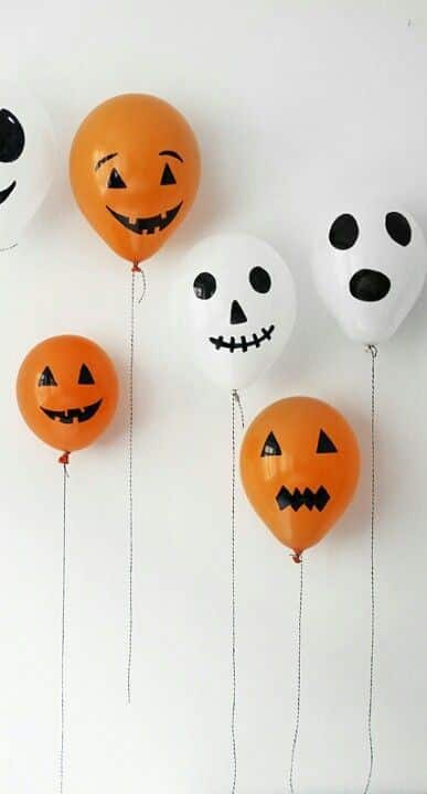 Decoracion Halloween Economica ~ decoracion halloween globos