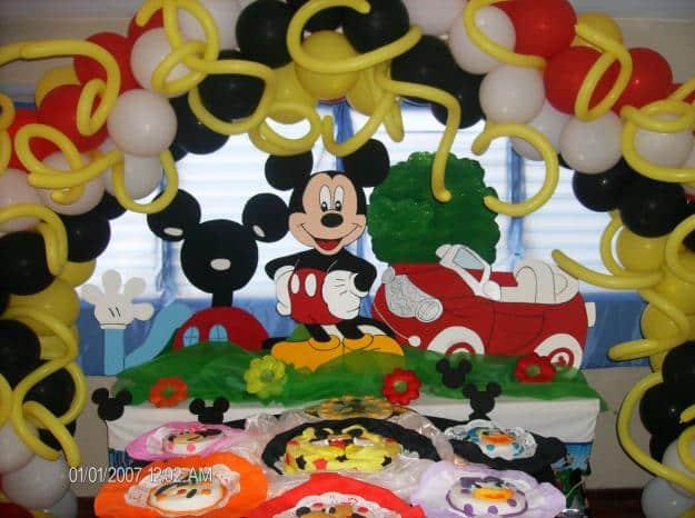 Mickey Mouse Decoracion Mesa ~   mesas dulces infantiles para un cumplea?os con la tem?tica de Mickey