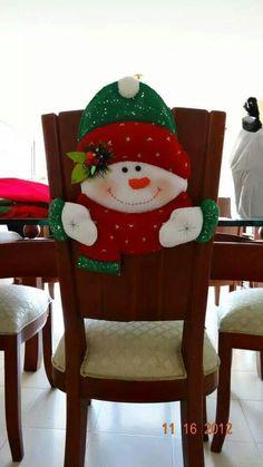 Decoraci n navide a 103 ideas sobre decoraci n de navidad - Hacer cojines para sillas ...