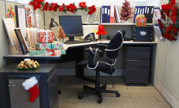 Decoraci n navide a 103 ideas sobre decoraci n de navidad for Decoracion de espacios de trabajo