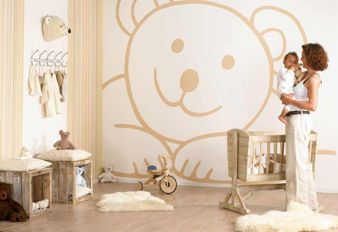 20 estilos e ideas para decorar la habitaci n del beb for Como decorar un dormitorio de bebe