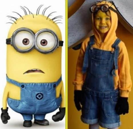 disfraces caseros para halloween disfraz de niños minion