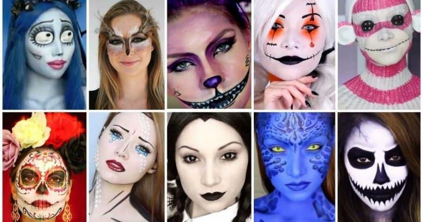 disfraces maquillaje halloween mujeres