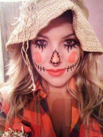 disfraz espantapajaros halloween