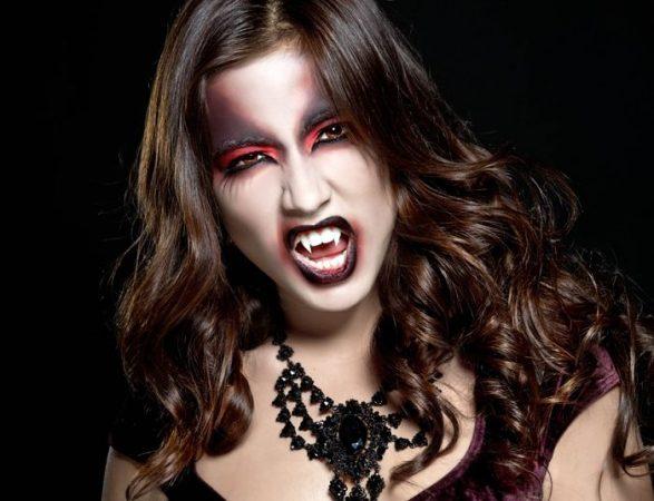 disfraz vampiresa halloween