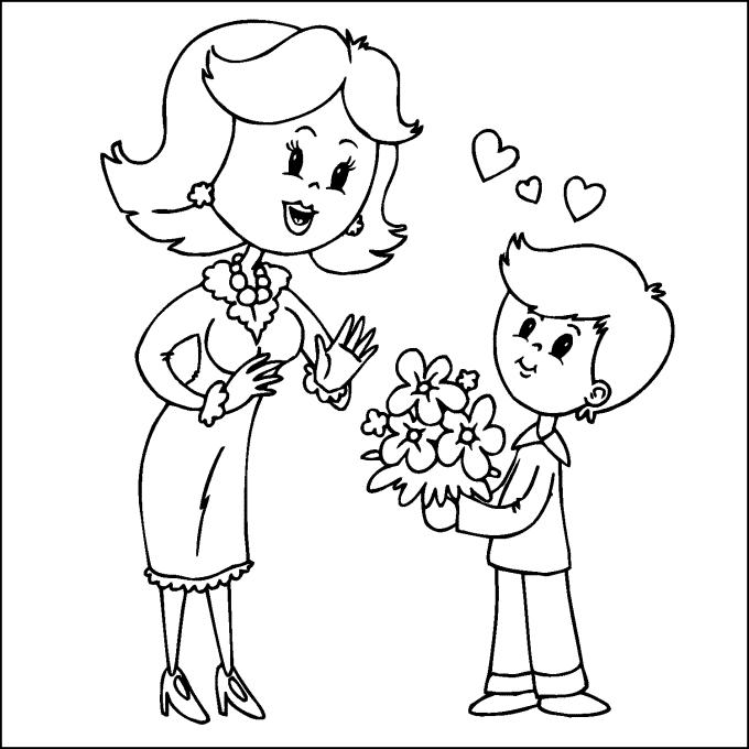 32 Dibujos para el Día de la Madre para imprimir y colorear ...