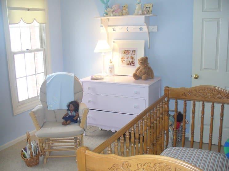 20 estilos e ideas para decorar la habitaci n del beb - Manualidades para decorar habitacion bebe ...