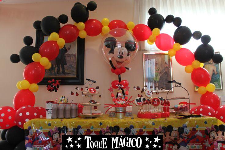 Decorar Fiesta Cumplea Ef Bf Bdos Mickey