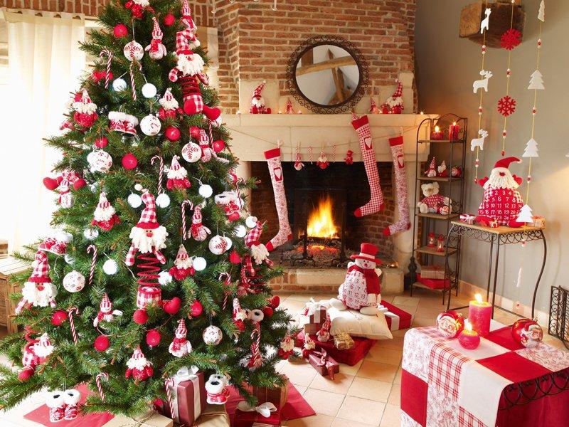 32 Adornos Y Tendencias De Arbol De Navidad Para Decorar Reciclando - Fotos-arboles-de-navidad-decorados