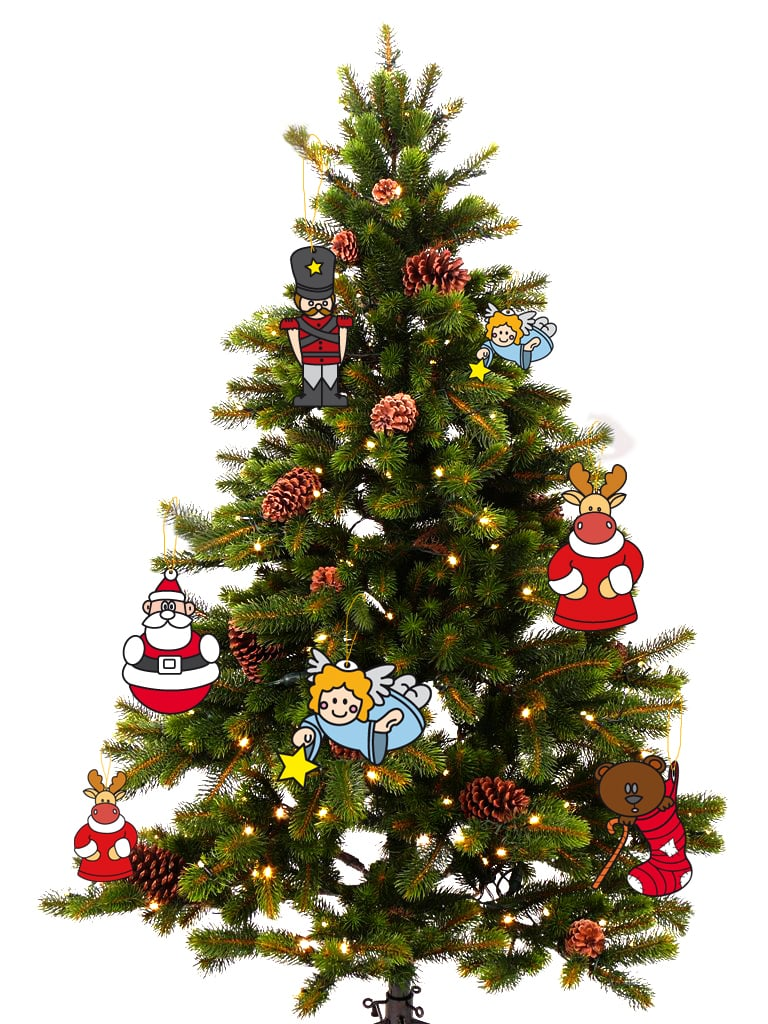 32 adornos y tendencias de arbol de navidad para decorar - Adornos para arbol navidad ...