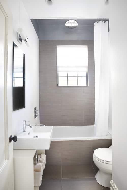 ideas para tener un bao moderno en un espacio pequeo