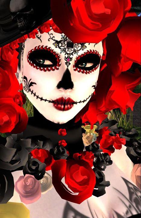21 ideas de Maquillaje de Catrina con Disfraz y Peinados - Mujeres ...