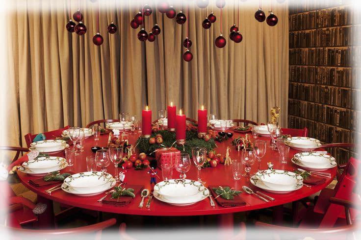 32 ideas de mesas navide as para decorar en navidad mujeres femeninas - Adornos para la mesa de navidad ...
