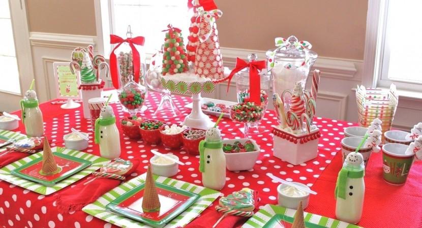 mesas navideas