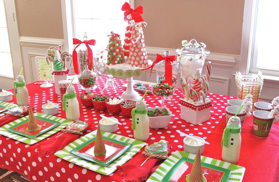 32 ideas de mesas navideñas para decorar en Navidad - Mujeres Femeninas