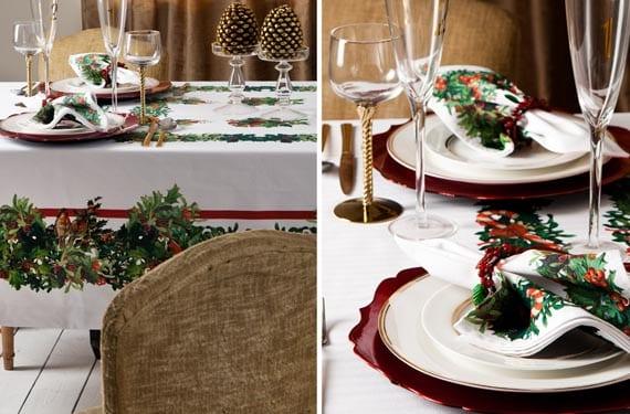 mesas-navideñas-rústicas