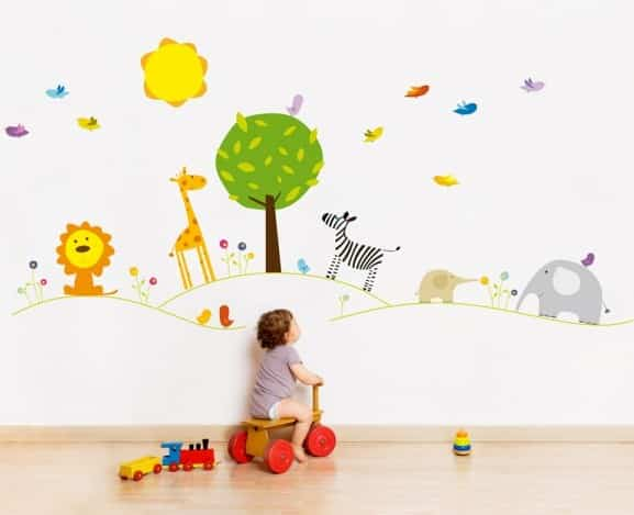 Vinilos Infantiles Decorativos Para Pared Increibles