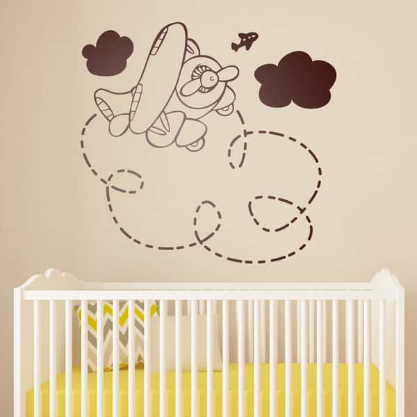 Vinilos infantiles decorativos para pared increibles for Vinilos para bebe nino