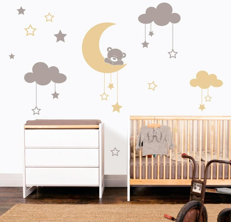 Vinilos infantiles decorativos para pared increibles - Vinilos decorativos pared leroy merlin ...