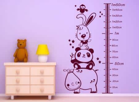Vinilos infantiles decorativos para pared increibles for Murales y vinilos infantiles