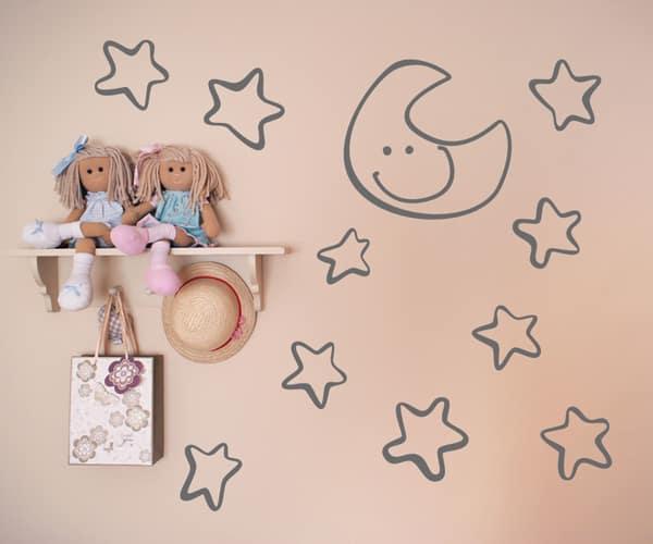 vinilos-infantiles-estrellas