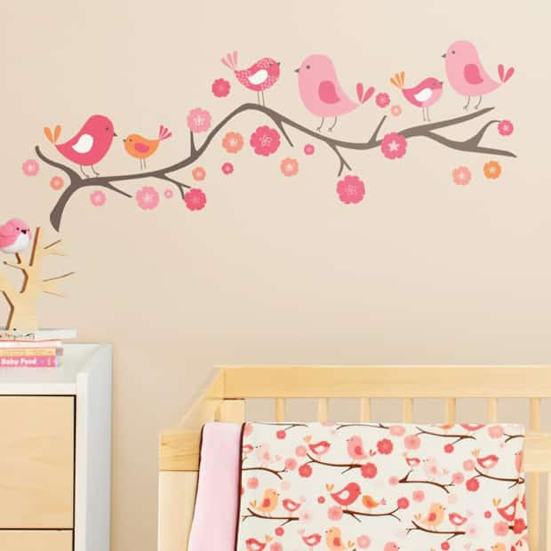 Vinilos infantiles decorativos para pared increibles for Vinilos para pared habitacion nina