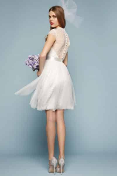 Vestidos de novia sencillos para matrimonio