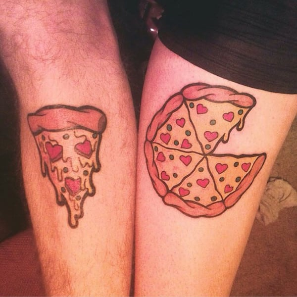 50 Tatuajes Para Parejas De Novios Que Sienten Amor Verdadero - Tatuaje-parejas