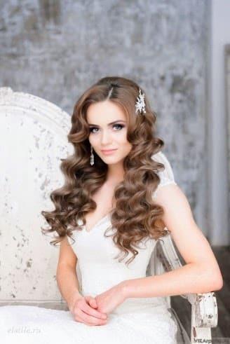 Average Of Bridal Hair And Makeup 2017 : Peinados 2017: tendencias para novias y nuevos cortes de ...