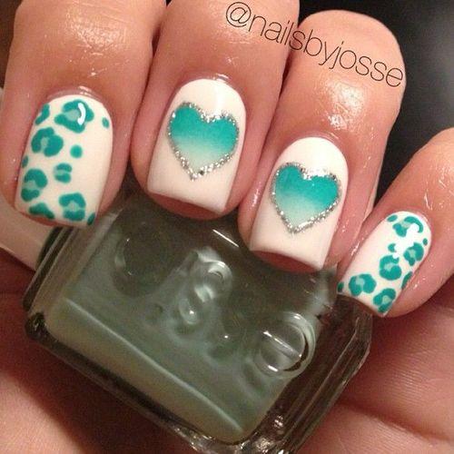 Modelos de uñas decoración