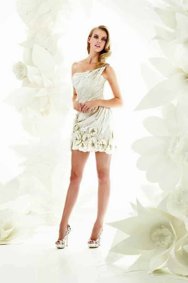 773ff07d85d48 19 Razones para utilizar un vestido de novia corto para tu ...