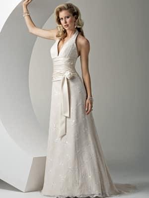 los 28 mejores vestidos de novia para una boda civil - mujeres femeninas