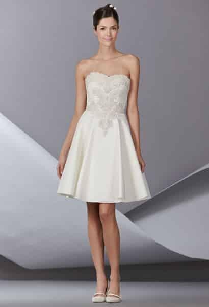 19 razones para utilizar un vestido de novia corto para tu